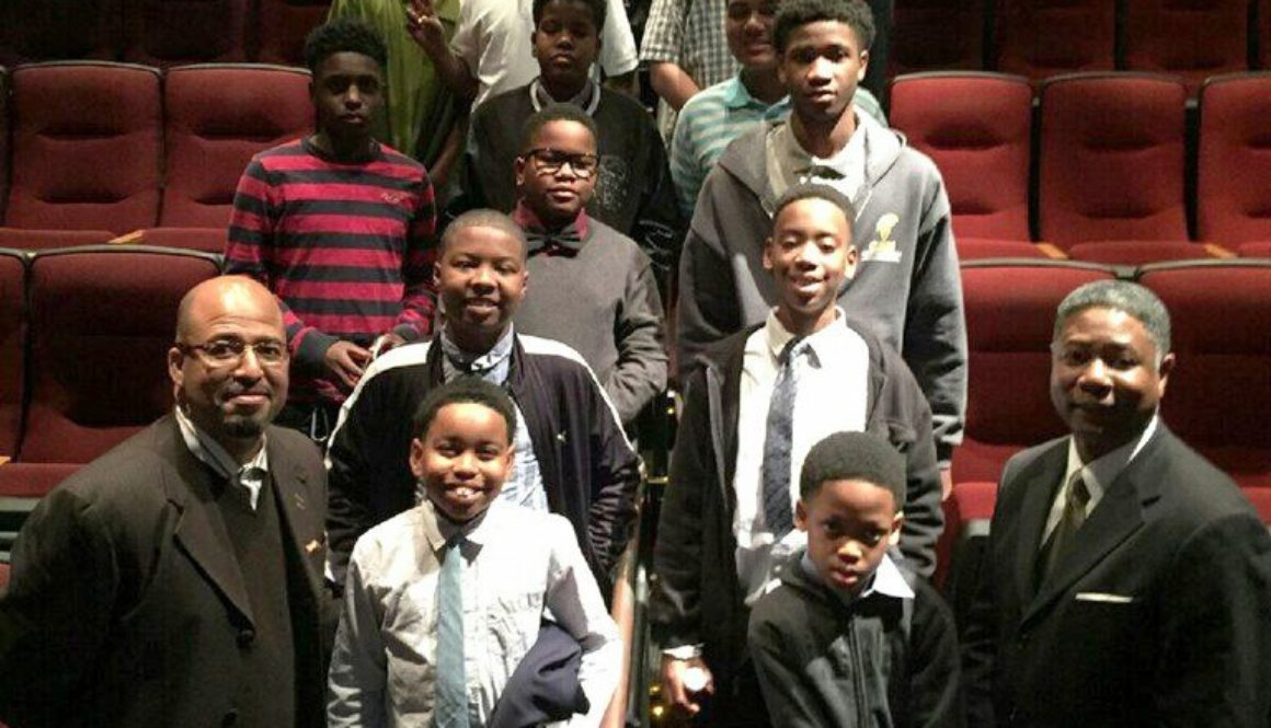Men In The Making - Jitney Group Photo