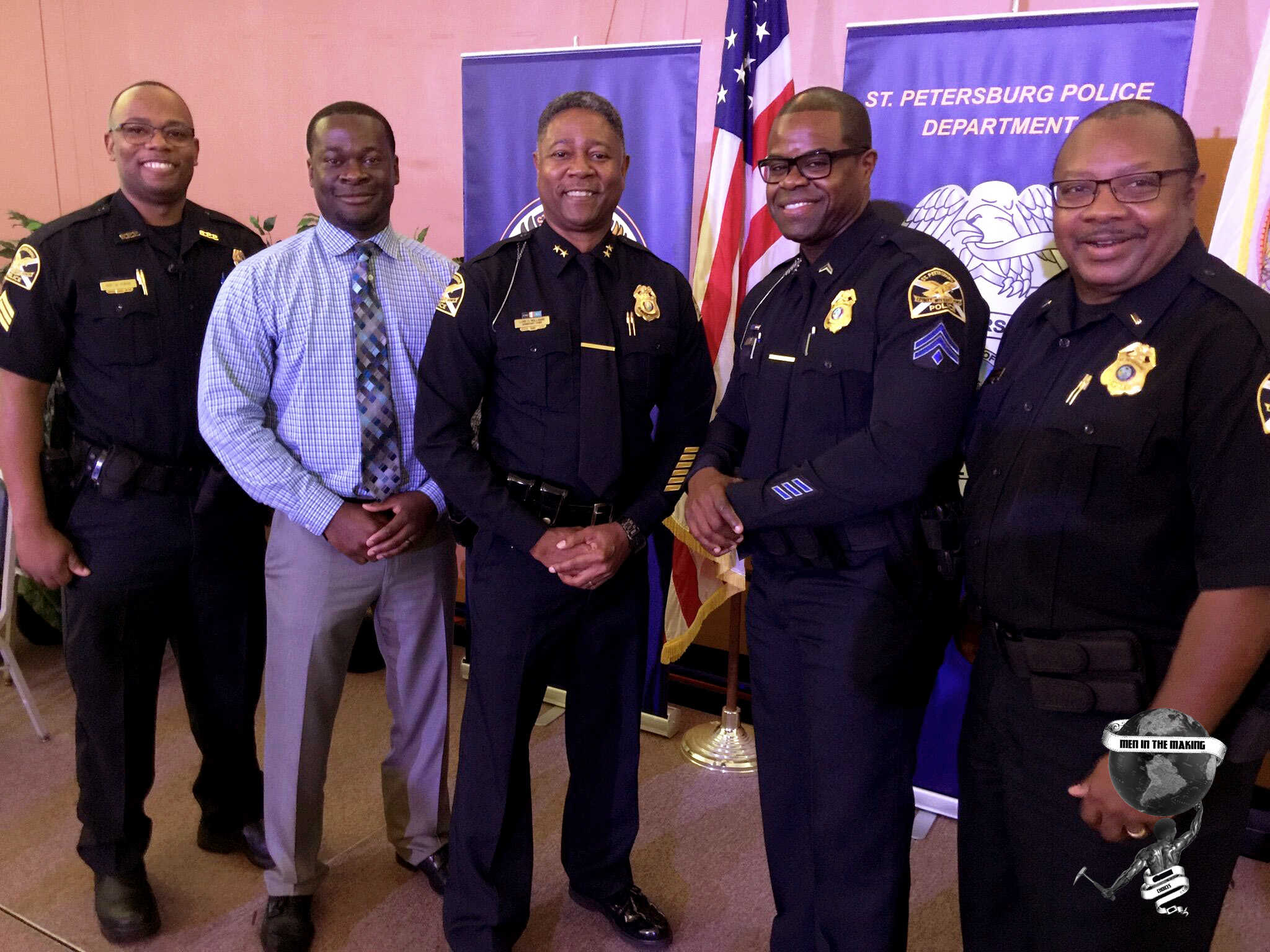 Men In The Making - SPPD Promotional Ceremony